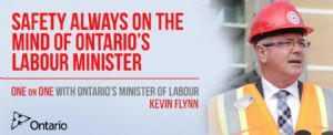 Safety Always on the Mind of Ontario's Labour Minister