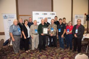 John Johnson P.Eng. receives Outstanding Service Award from the Ontario Building Officials Association (OBOA)