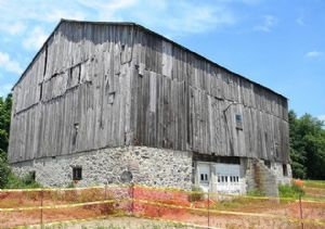 Owner wants 'unsafe' 1870's barn removed from city's cultural heritage registry